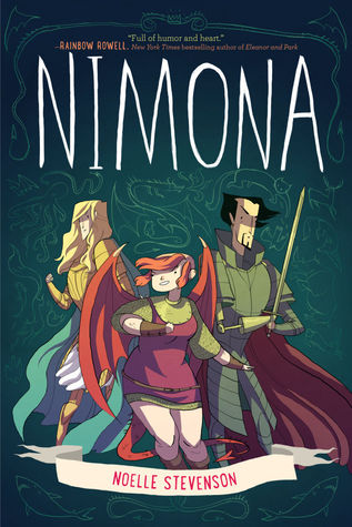 Mini Review: Nimona by Noelle Stevenson