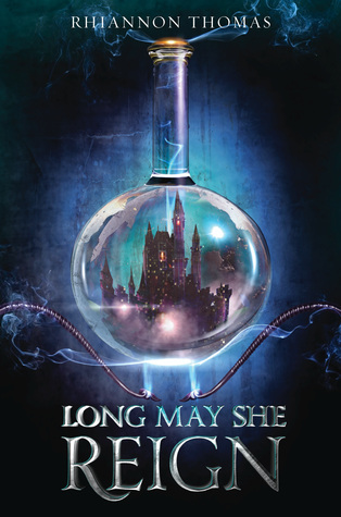 book cover of Long May She Reign by Rhiannon Thomas