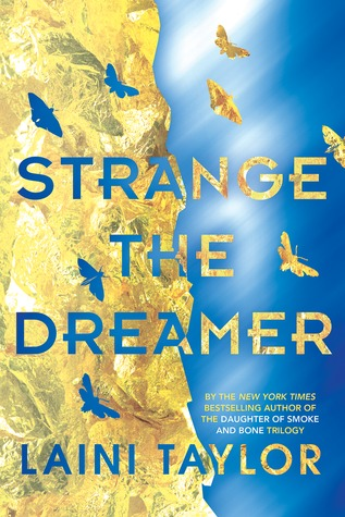 book cover of Strange the Dreamer by Laini Taylor