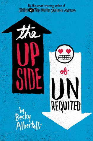 book cover for The Upside of Unrequited by Becky Albertalli